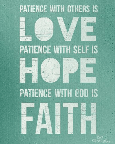 Love, Hope and Faith